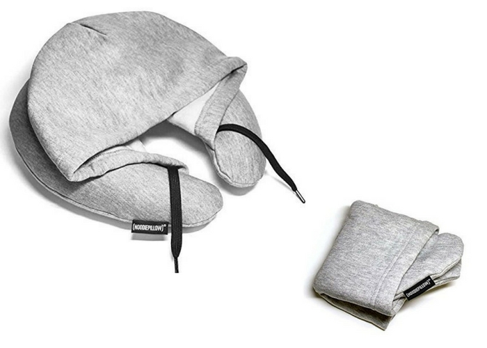 The Hoodie Pillow in grey