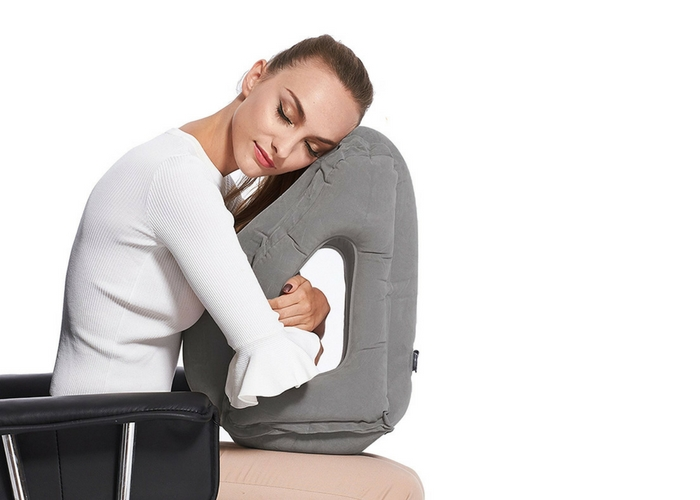 best travel neck pillow 10 Best Inflatable Travel Pillows | SmarterTravel best travel neck pillow