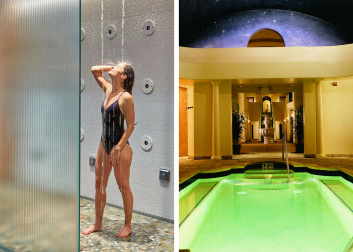 hydrotherapy spas willow stream spa at fairmont sonoma mission inn