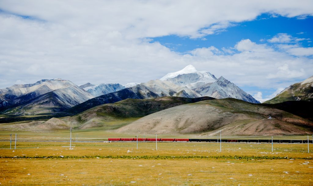 lhasa tibet train journey