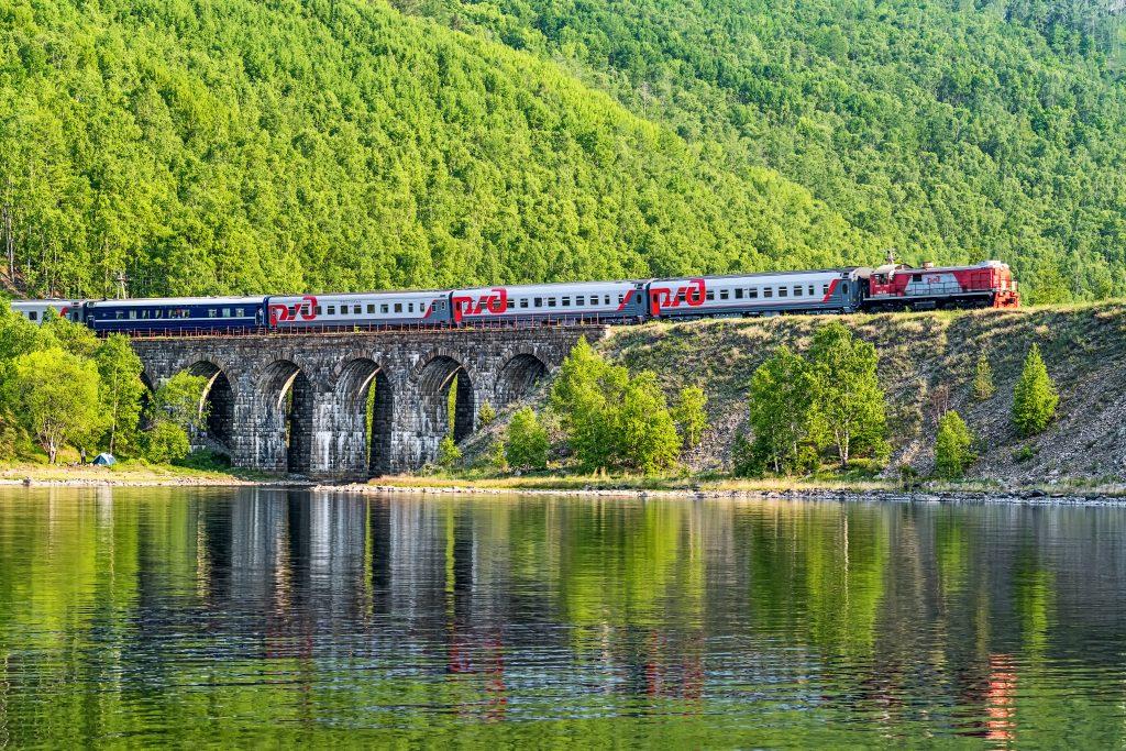 Rossiya russian train journey