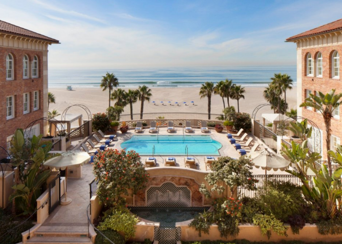 los angeles beach hotels