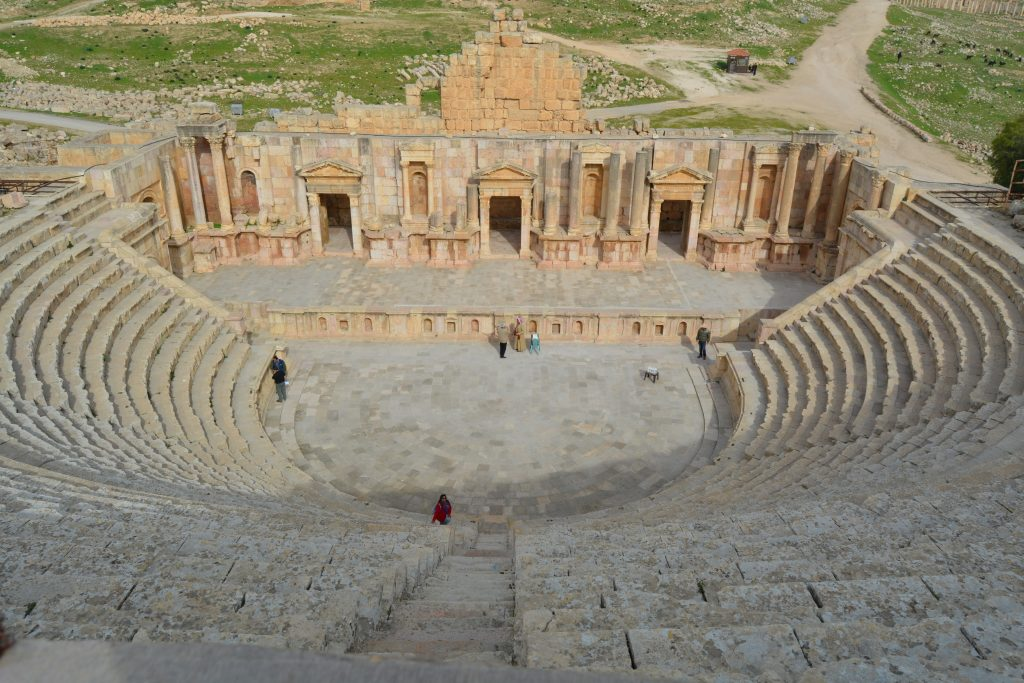 Jerash middle east travel