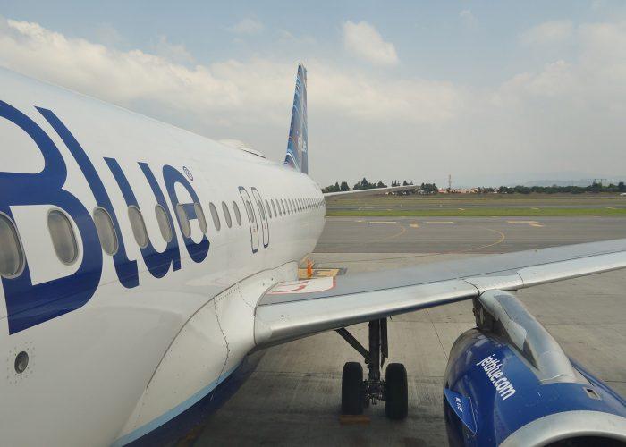 JetBlue Plane at Terminal