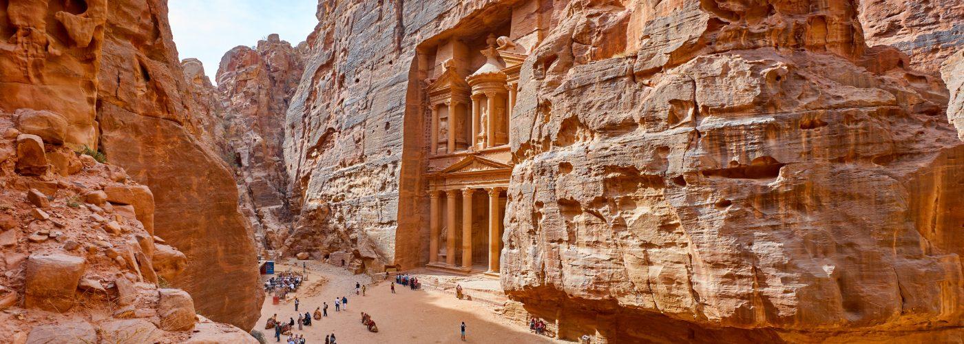 Middle East travel Petra Jordan
