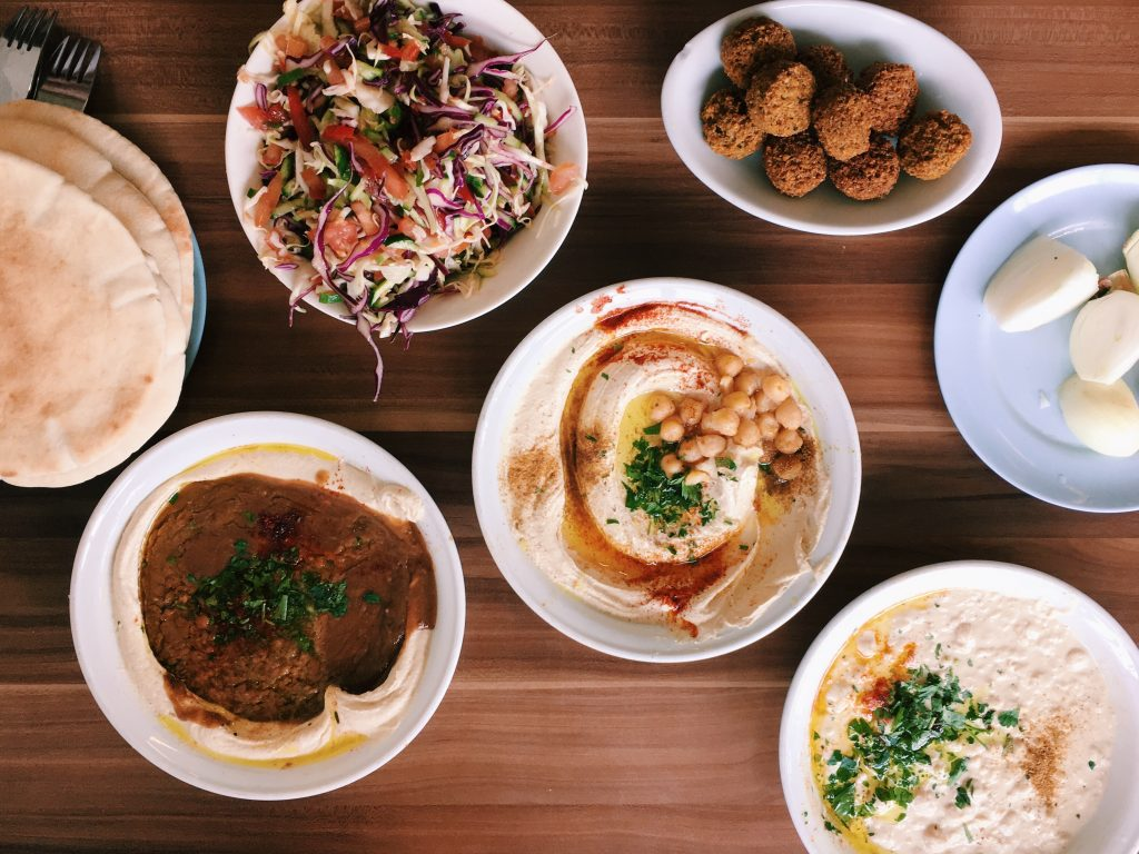 Middle east travel food israel
