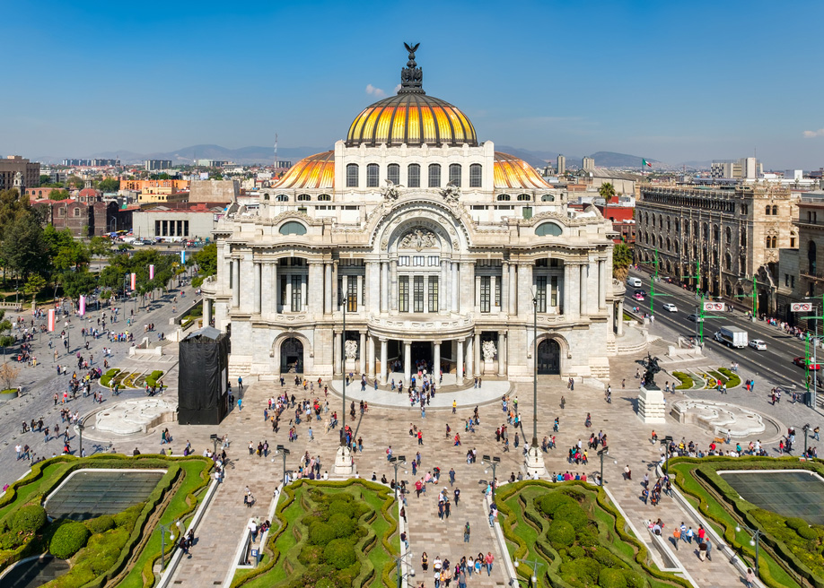 Mexico city, mexico is safe for travelers