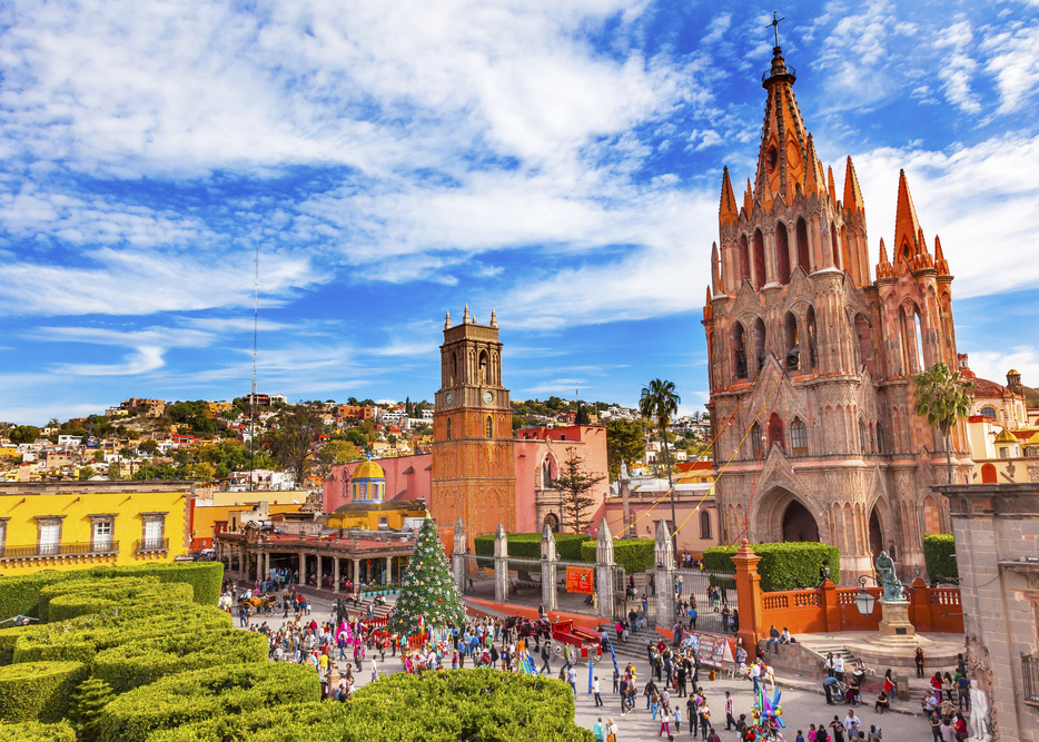 San miguel de allende, mexico is safe for travelers