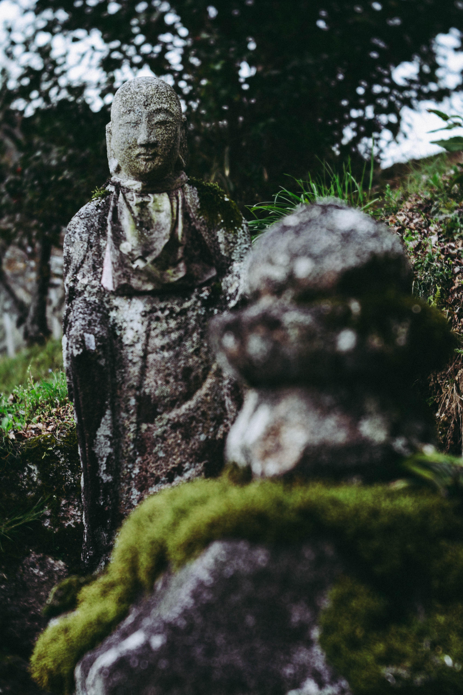 Nakasendo way statue
