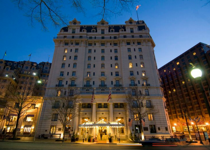 famous hotels in washington dc