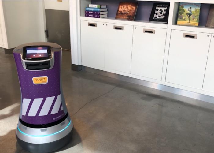 Meet YO2D2: Yotel's Robot Butler