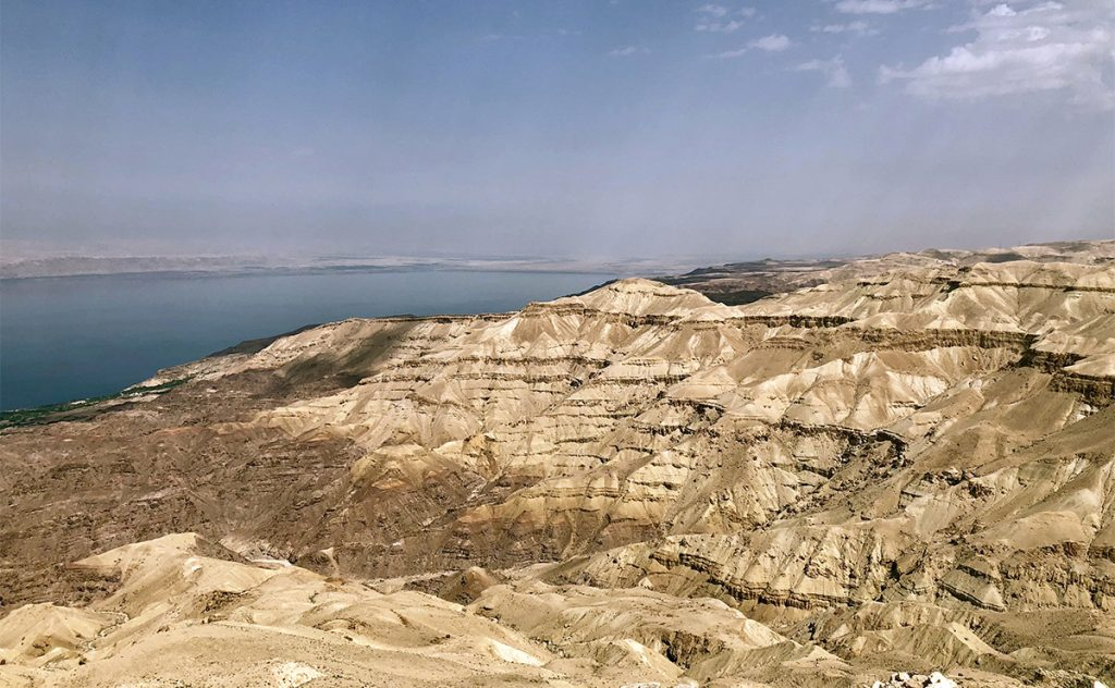 Dead sea canyon jordan travel