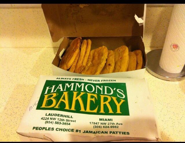 Hammond's bakery