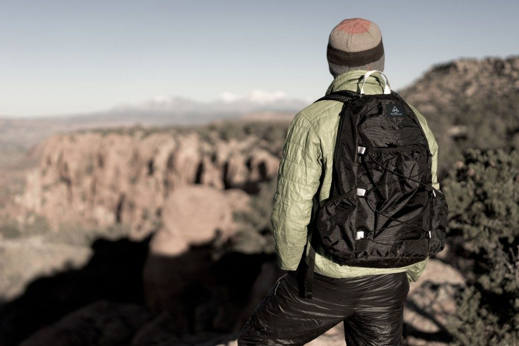Hiking essentials: backpack