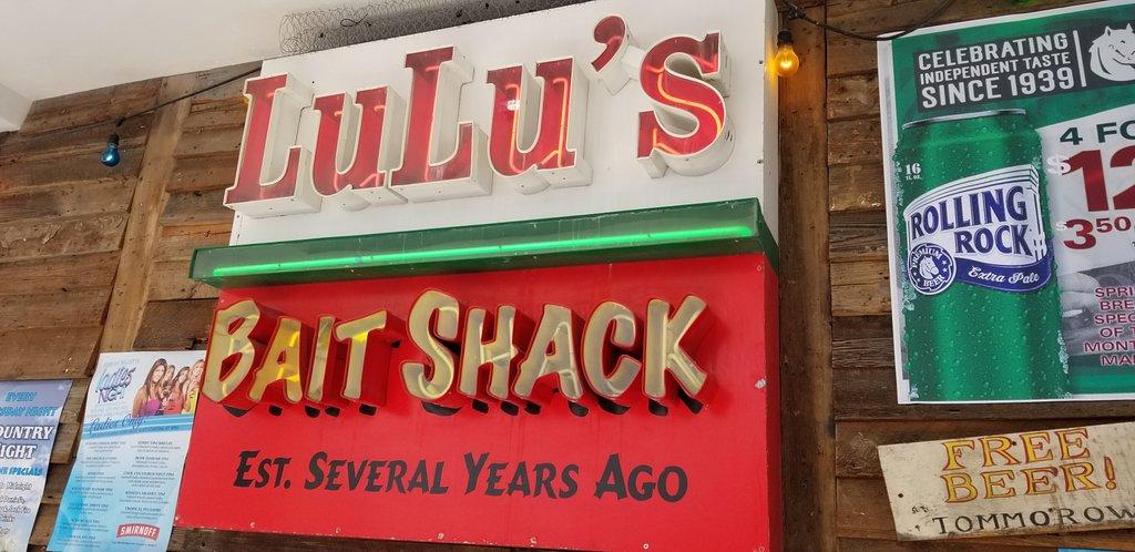 Lulu's bait shack