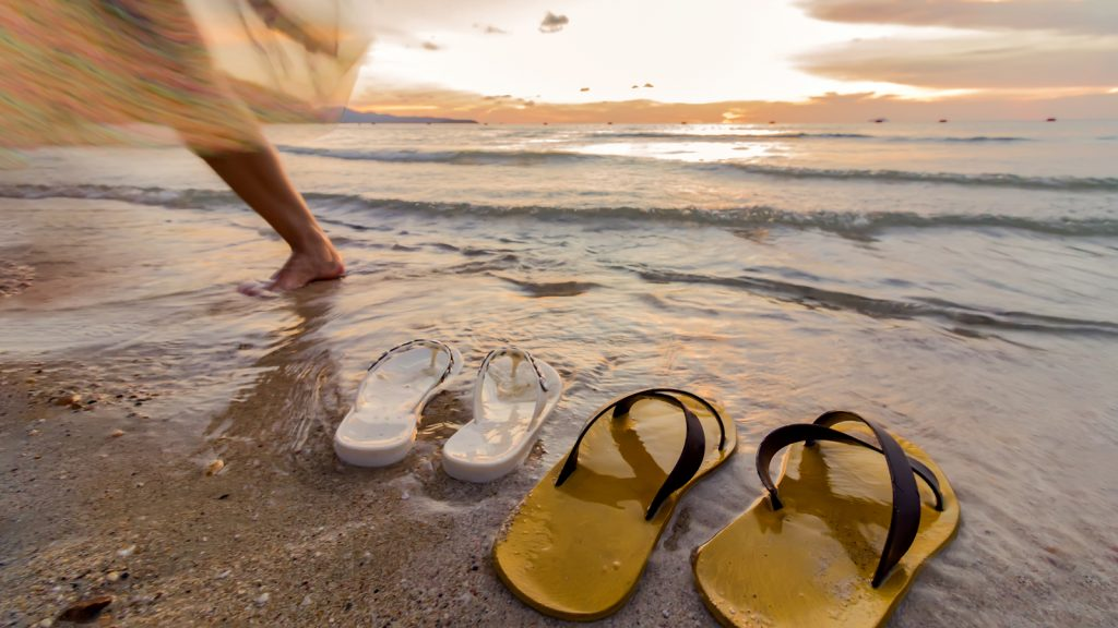 spring travel sandals