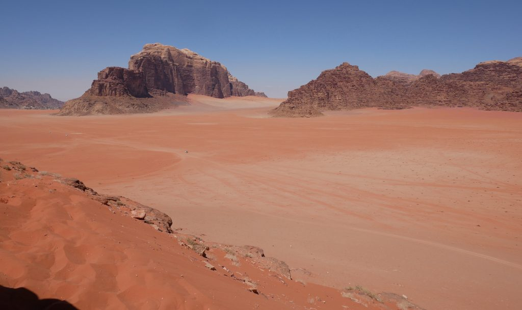 Wadi rum jordan travel