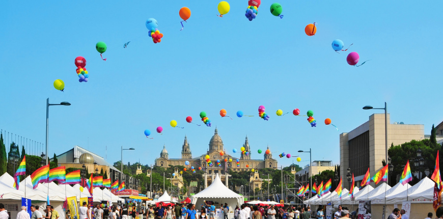 barcelona spain pride festival