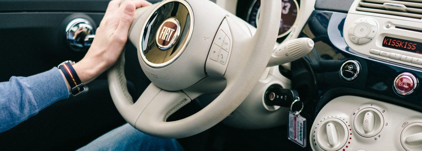 Fiat renting a car in Europe