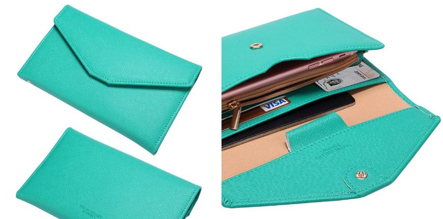 Zoppen multi-purpose rfid blocking travel passport wallet.