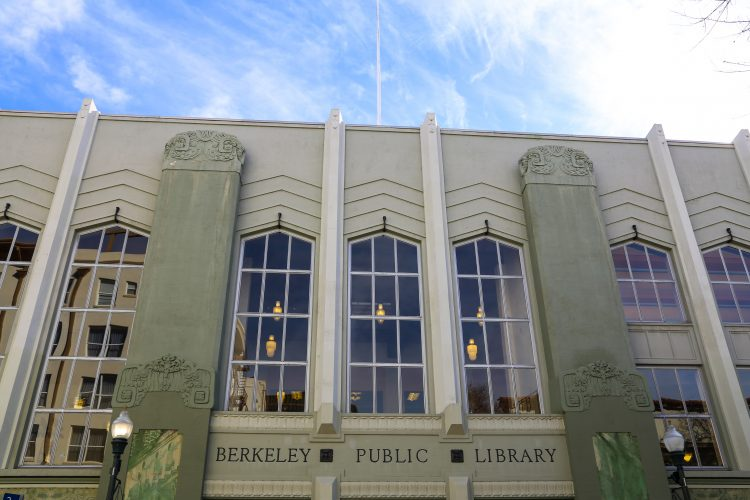 Berkeley public library central branch