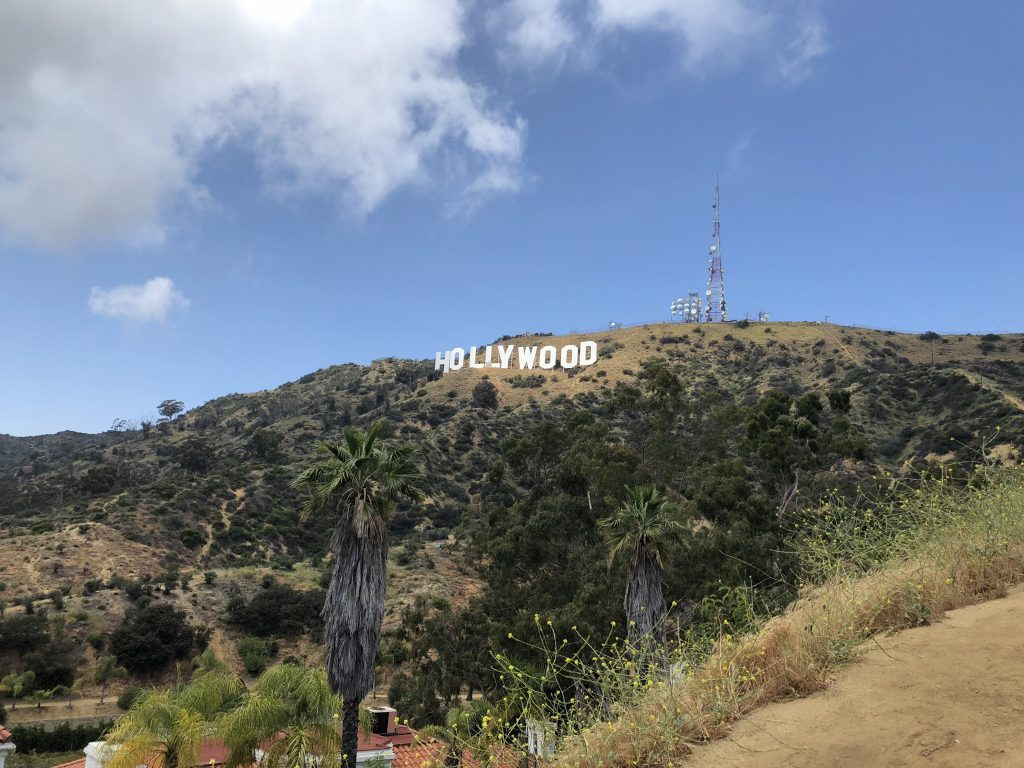 Visit west hollywood sign hike
