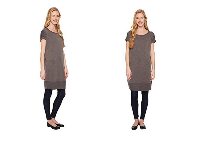 b37e50ab598540 Great for travel days, on its own, or with leggings and jeans, this tunic  dress by Royal Robbins is a traveler's dream. The stretchy knit and boxy  fit suit ...