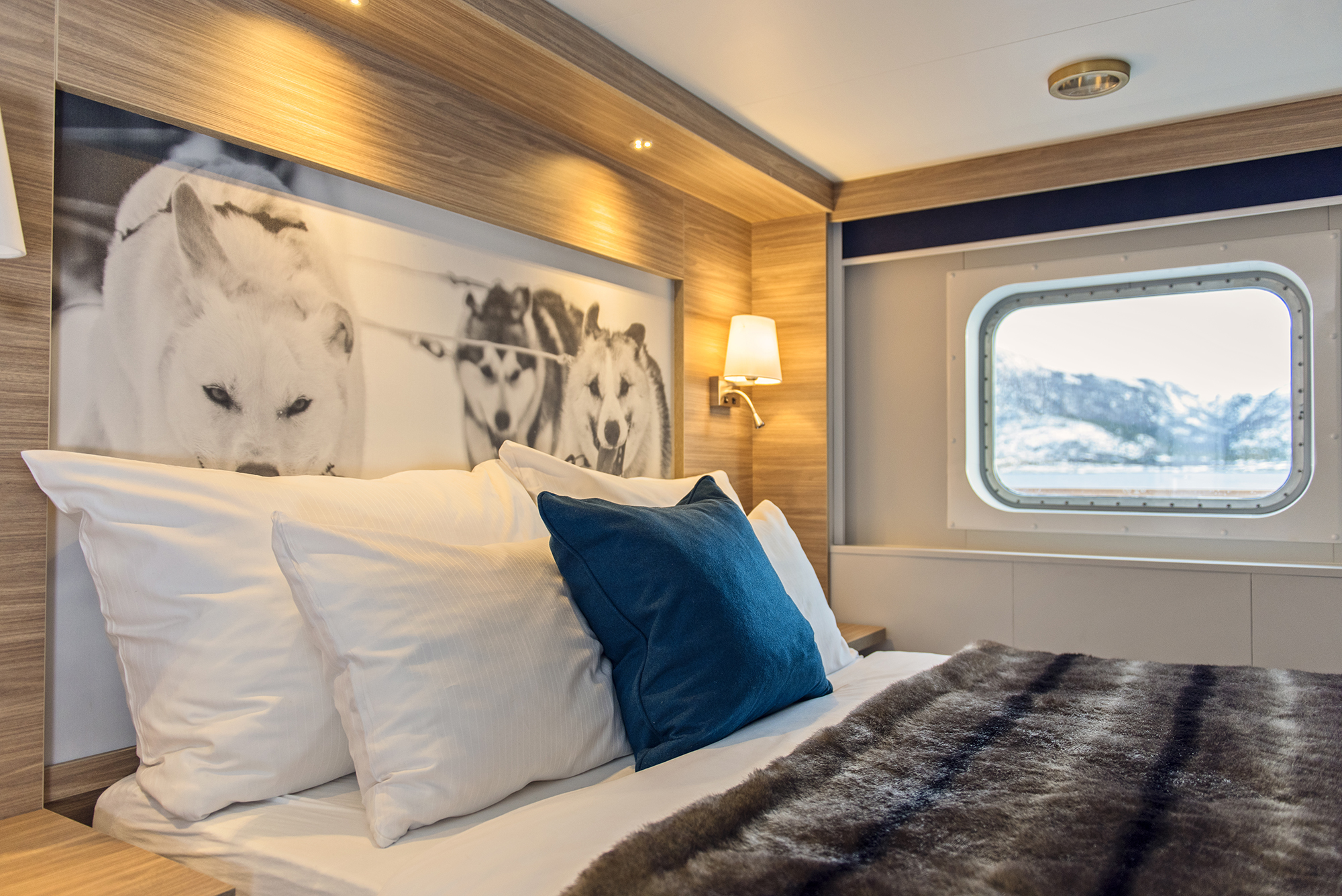 arctic superior cabin on ms nordnorge
