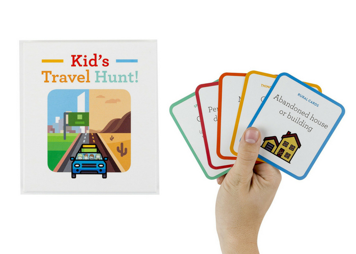 kids travel hunt game