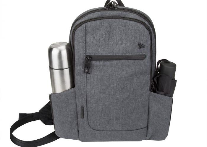 Front view of the Travelon Anti-Theft Urban Sling