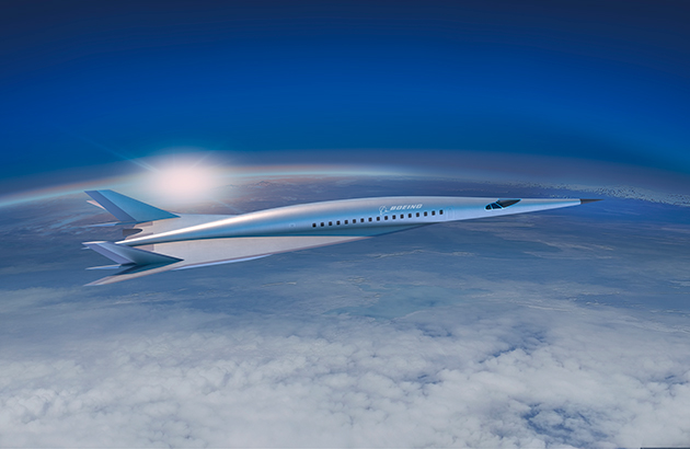 Boeing Mach 5 for hypersonic flights