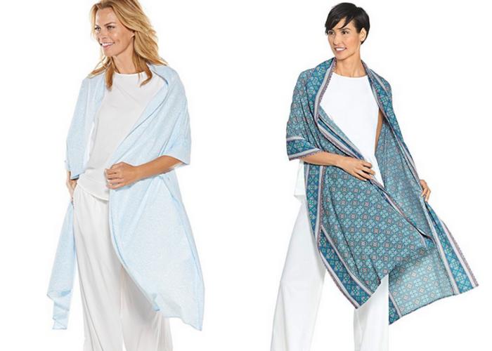Coolibar beach shawl