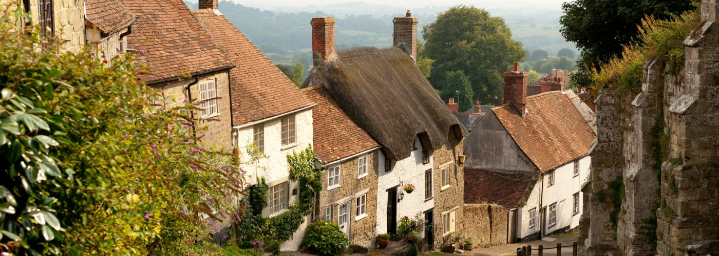 English Village Dorset England