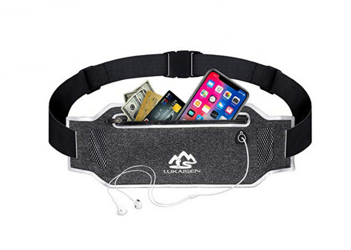 Excercise slim belt bag