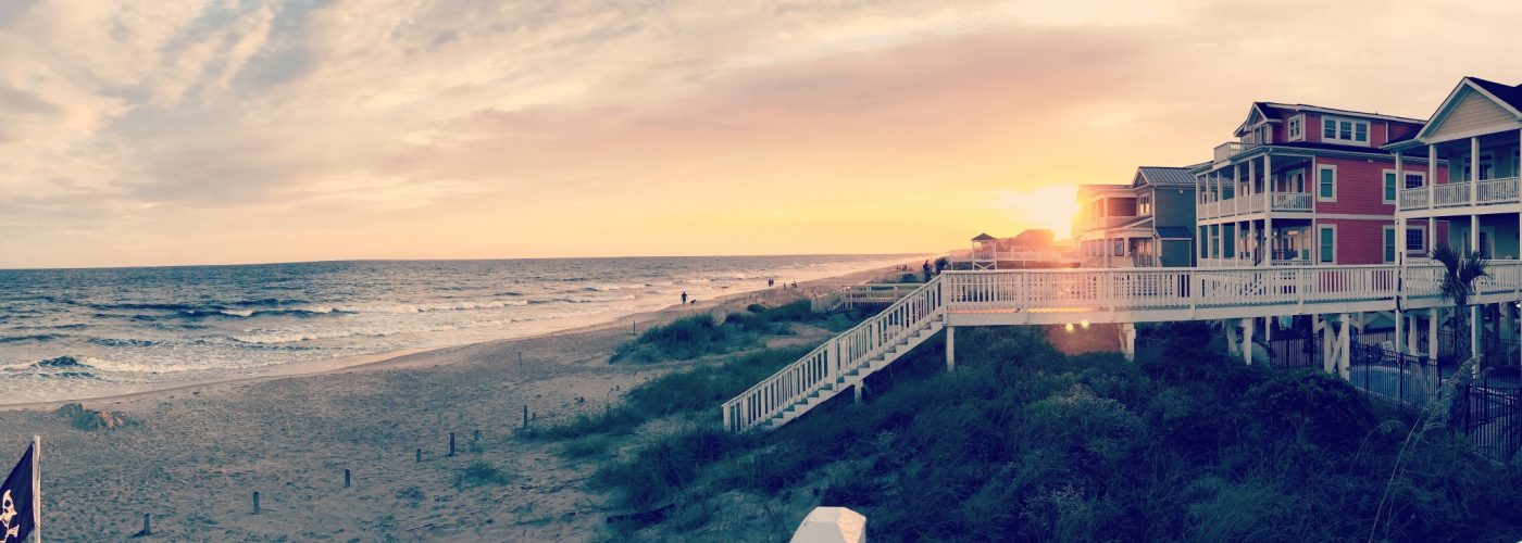 family beach vacation on oak island nc