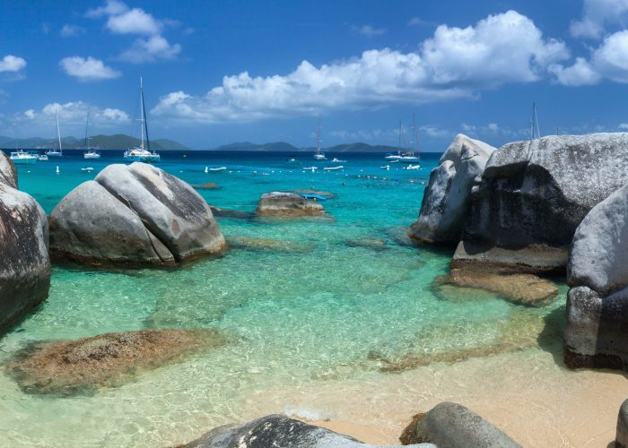 British Virgin Islands Baths on Virgin Gorda