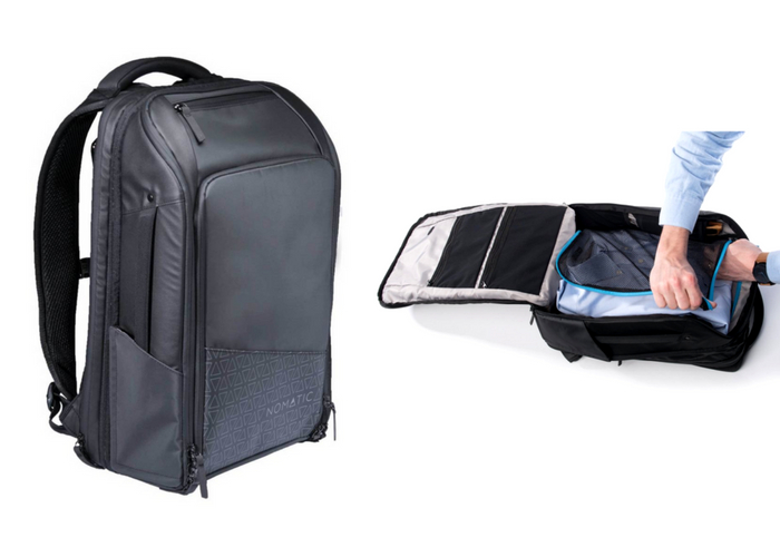 1921b709dbf0 Nomatic s Travel Pack is a sleek-looking travel backpack that starts at 20  liters and can be expanded to 30 liters. With plenty of hidden pockets and a  ...