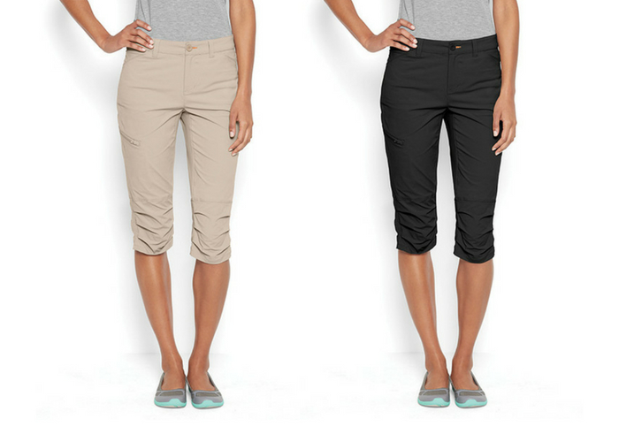 daf052d446 Not too long, not too short—the Orvis Guide Capris are the perfect choice  for in-between weather. The slim leg gives these a more stylish silhouette  than ...
