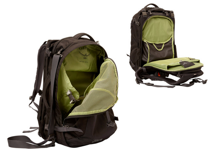 This Two In One Backpack Was Made For The Traveler On The Move The Osprey Ozone Duplex 65l Is A Large Andious Backpack That Splits Into Two Bags One