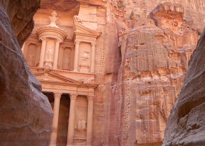 Treasury visiting Petra Jordan