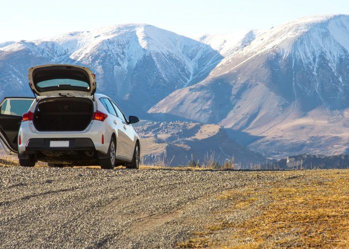 car rental at mountains