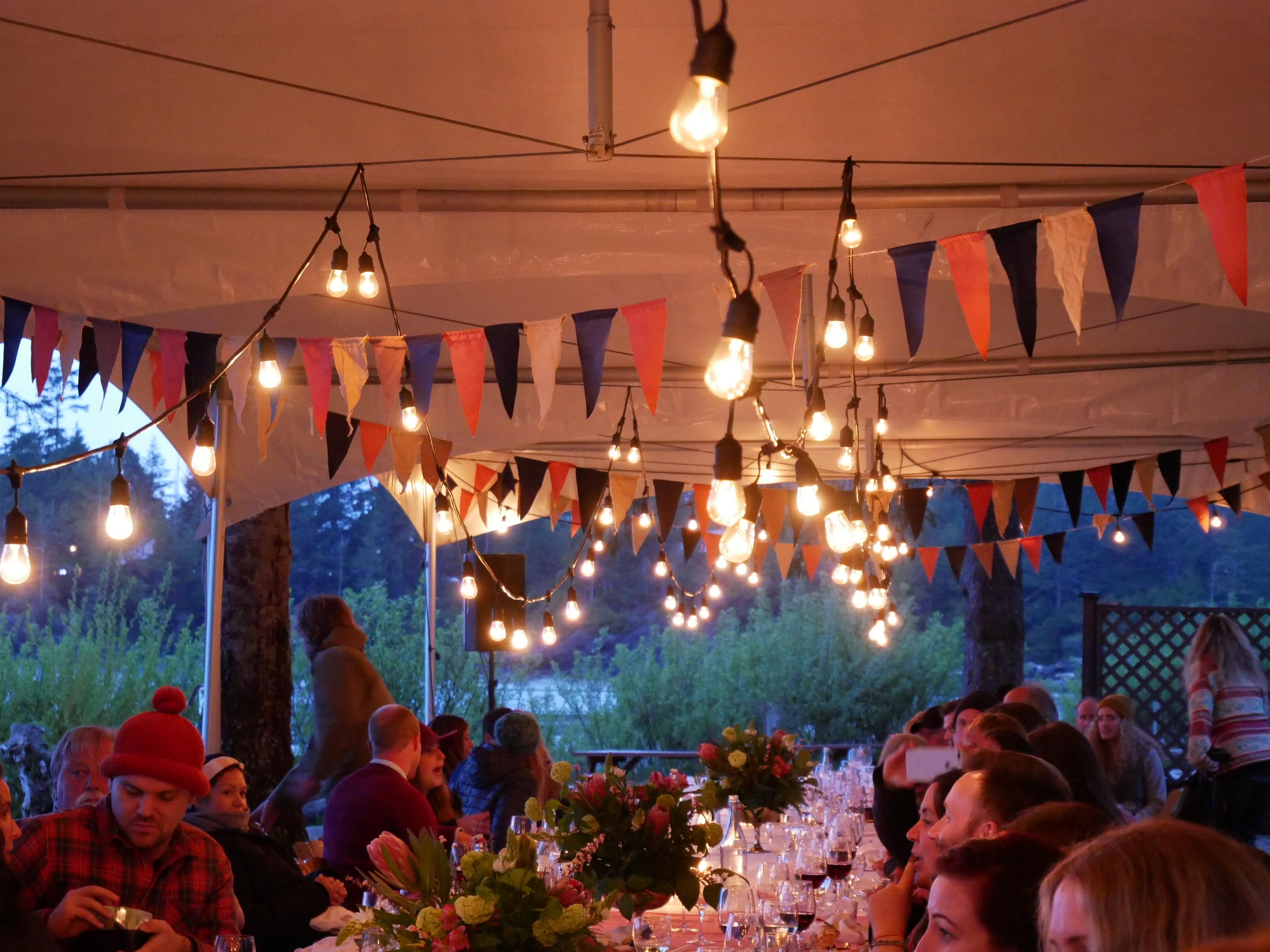 long table dinner food festival