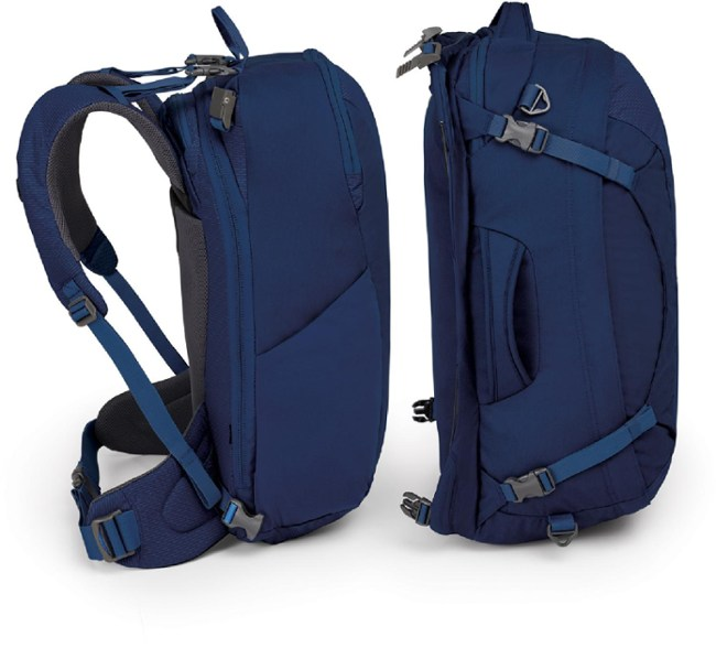 Osprey ozone duplex backpack in two parts