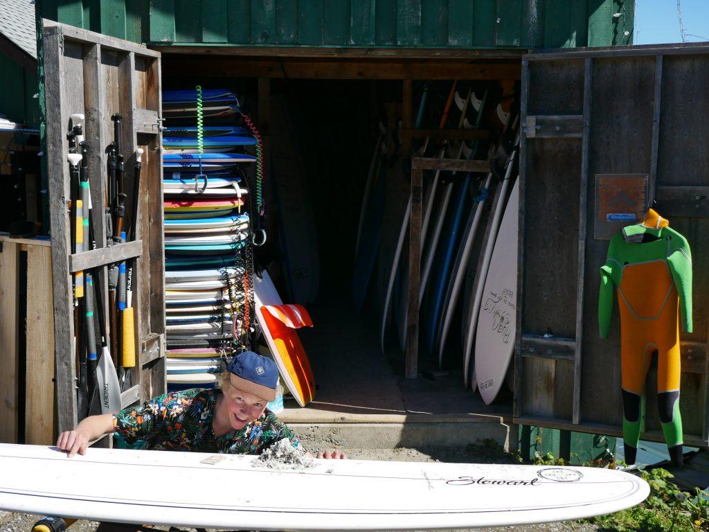 surf shop in tofino