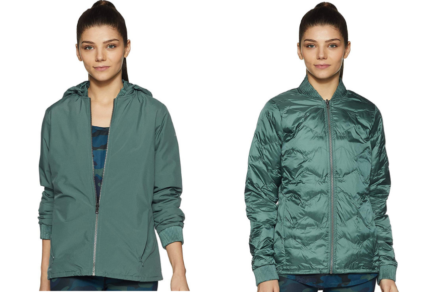Columbia hillsdale spring reversible jacket.