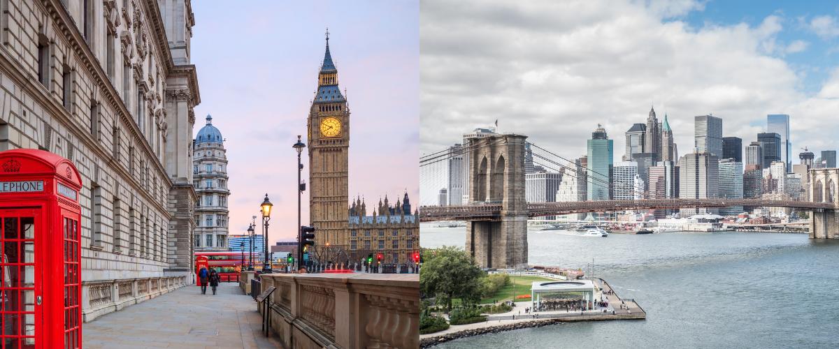 London vs  New York: Which City Should I Visit? | SmarterTravel