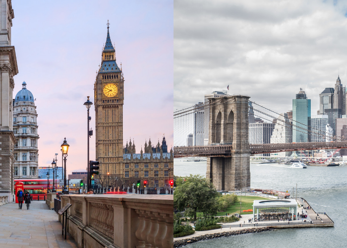 London vs. New York: Which City Should I Visit?