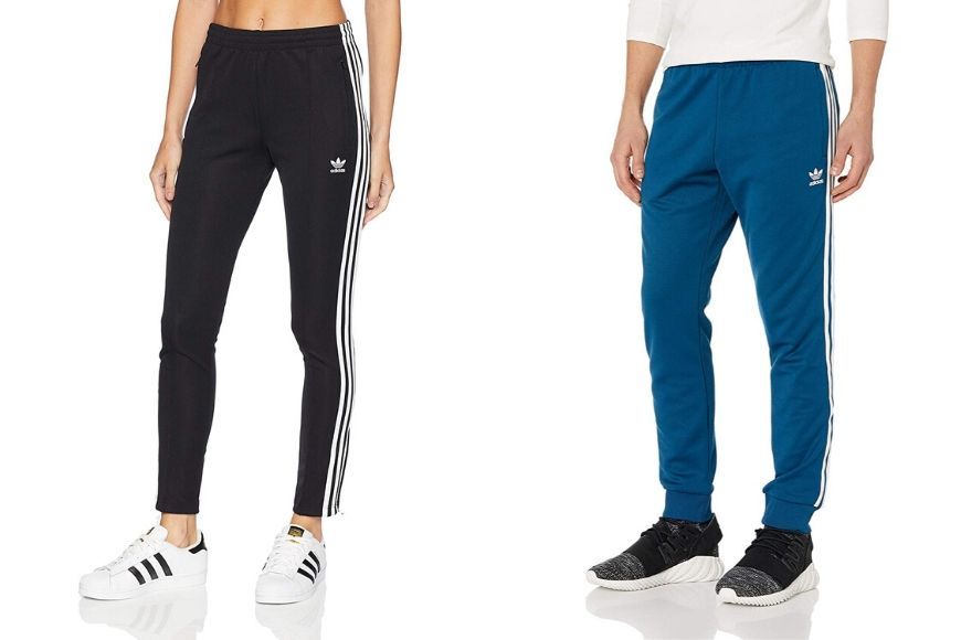 Adidas originals superstar track pants.