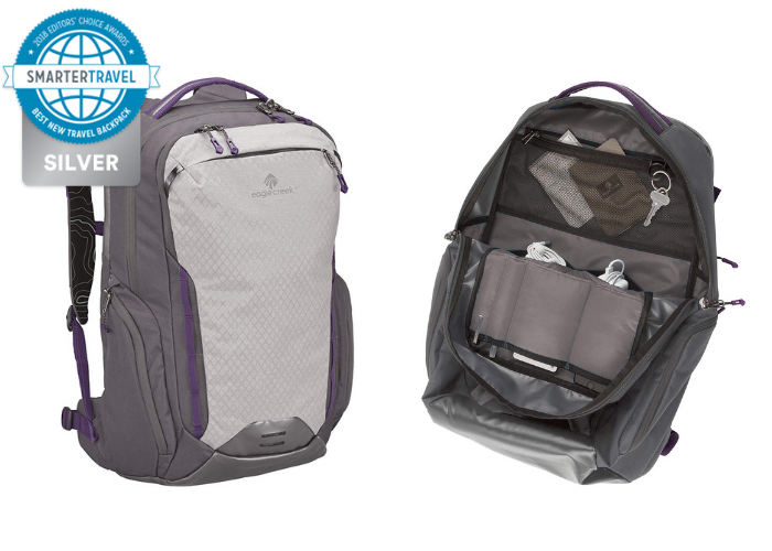 cbd3e5f97bf1 Eagle Creek s cleverly designed Wayfinder Backpack is a sturdy  carry-on-sized companion for just about any adventure. The pockets are  specifically designed ...