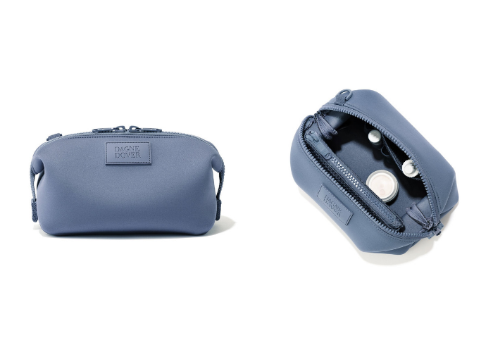4c36a751e140 Our testers loved the classy dopp-kit look of the Hunter Toiletry Bag by  Dagne Dover. This toiletry bag is well-sewn